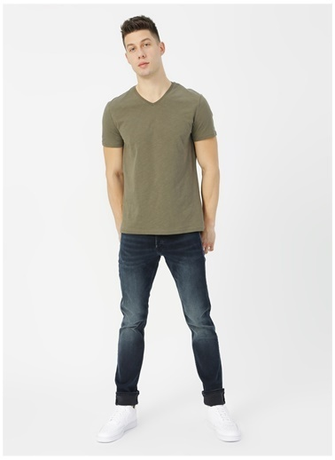 Jack & Jones Jack & Jones 12177802 Denim Pantolon Mavi